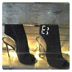 Just Fab - Black High Heel